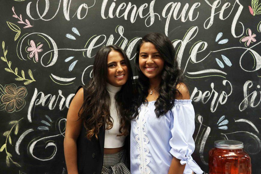 4. Paloma de la Cruz y Noelia Guzman