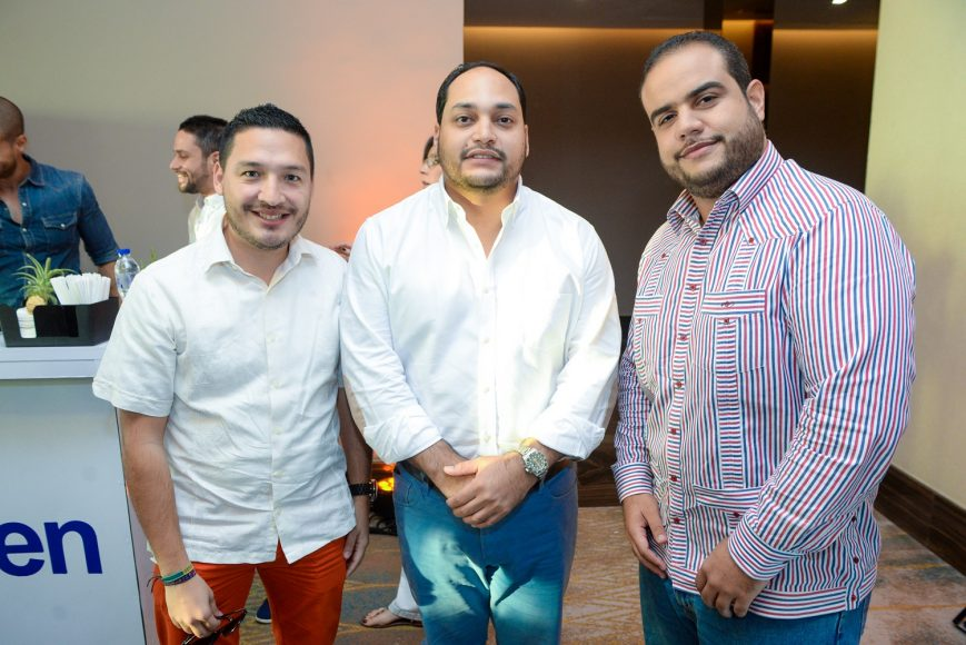 3-Daniel Zamudio, Eloy Núñez, Armando Rodríguez