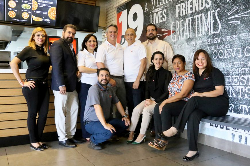 5 Equipo ejecutivo de Pizza Hut en República Dominicana