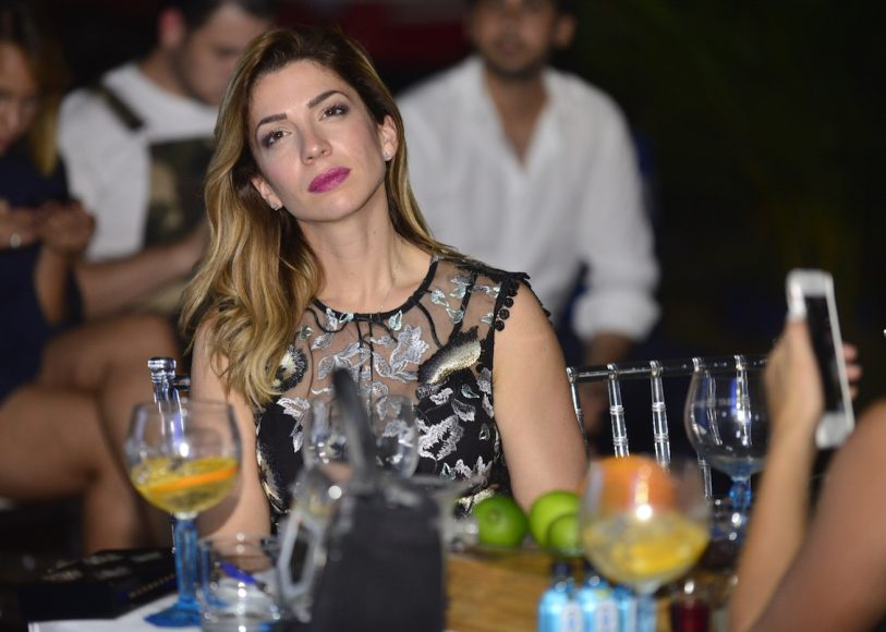 Leonor García durante el masterclass