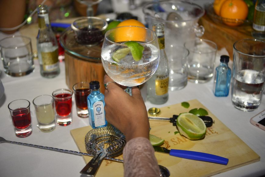 The ultimate Gin & Tonic en Dominicana Moda