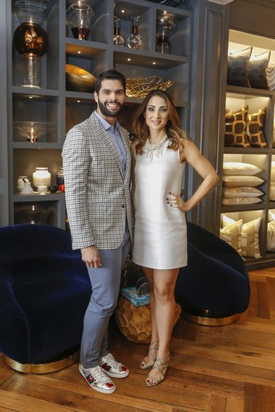 1. Principal, Andrés Aybar y Lissette Polanco de Séliman
