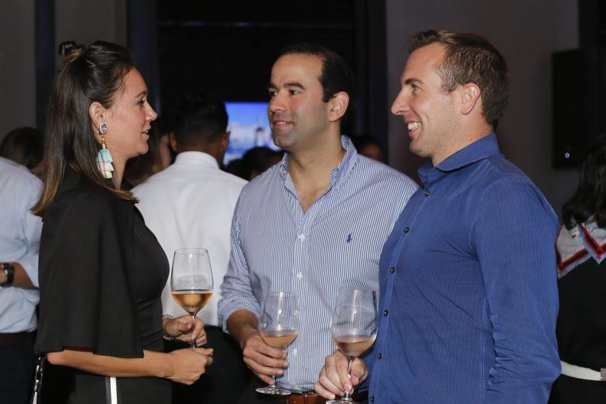 Erika Fernández, Mariano Gonzalez y David Guilbault