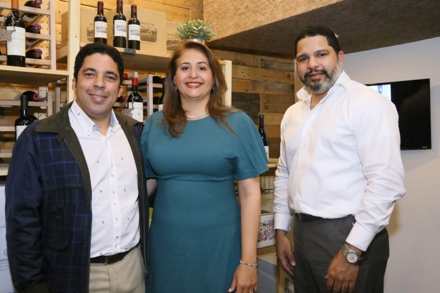Franklin Matos, Rosangela Verges y Virgilio Vidal (Copiar)