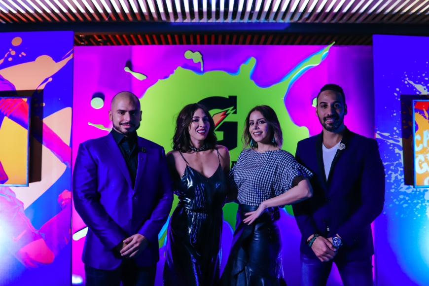 Jochy Pascual, Gabi Desangles, María Alejandra Guzman y Jhoel Lopez
