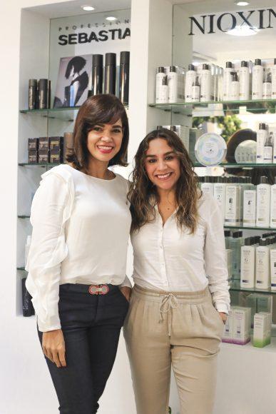 Julia Naut y Jesica Hernández