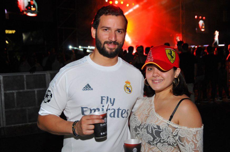 11 Adalberto Estevez y Alina Yapor
