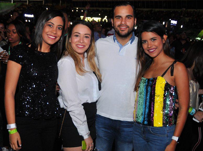 4 Elsa Ochoa, Melanie Marchena, Miguel Burgos y Laura Ochoa