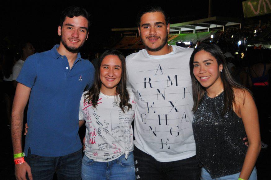 7 Felix Camilo, María Alexandra Franco, Edgar Alma y Franchesca Tejada