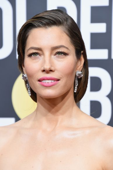BEVERLY HILLS, CA - JANUARY 07:  Actor Jessica Biel attends The 75th Annual Golden Globe Awards at The Beverly Hilton Hotel on January 7, 2018 in Beverly Hills, California.  (Photo by Steve Granitz/WireImage)
