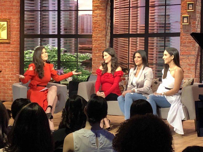 2. Glency Feliz, Francisca Lachapel, Chinquinquirá Delgado, Ana Patricia Gómez