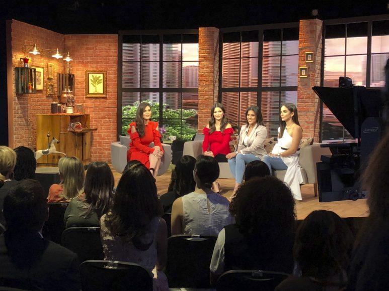 3. Glency Feliz, Francisca Lachapel, Chiquinquirá Delgado, Ana Patricia Gómez
