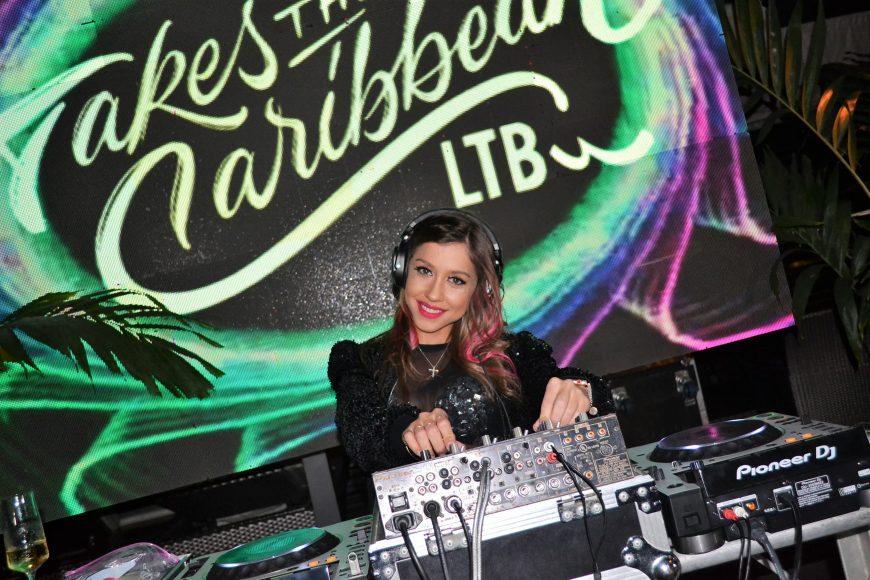 DJ Miss Gem animó el evento