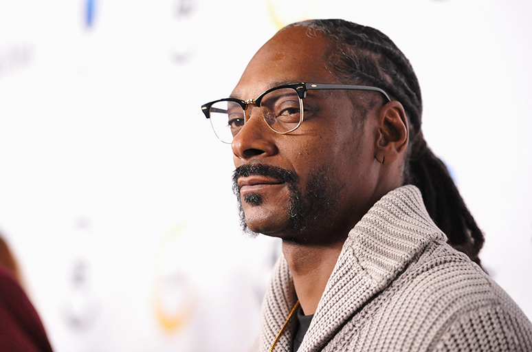 LOS ANGELES, CA - FEBRUARY 24:  Hip-hop artist Snoop Dogg attends the first All Def Movie Awards at Lure Nightclub on February 24, 2016 in Los Angeles, California.  (Photo by Michael Tullberg/Getty Images)