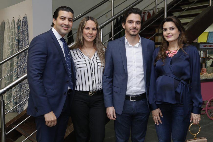 9. Sebastián Jiménez, Sandra Milán, Agusto García, Gabriela Haché