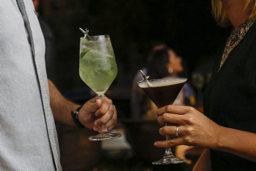 Brindis con Le Grand Fizz y Espresso Martini