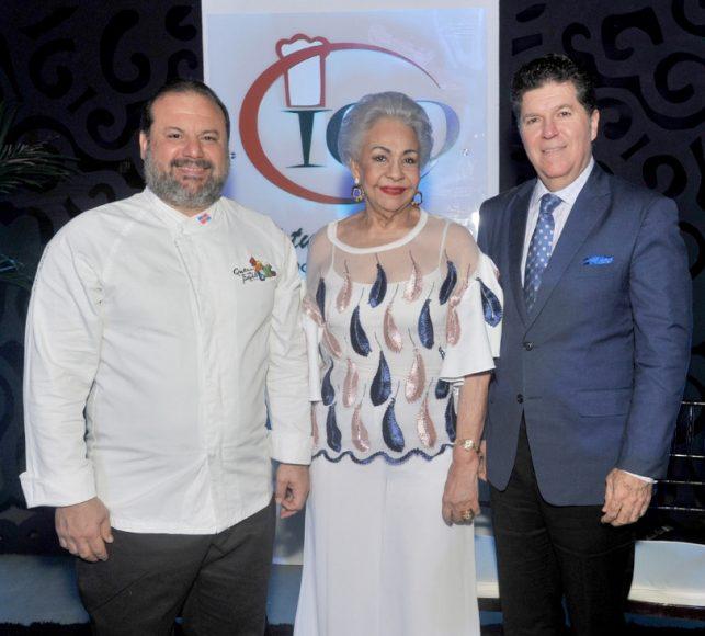 Chef Leandro Díaz, Esperanza Lithgow, Luis Ros