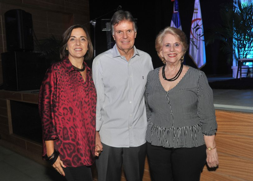 Claudia de Baena, Celente Baena y Silvia Pou