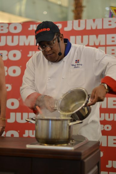 Cooking Show en vivo a cargo del Chef Wandy Robles