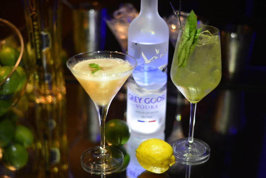 French Martini y Academy Gimlet