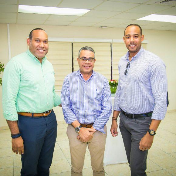 Richard Leyba, Eduardo Minaya, Féliz Acevedo.