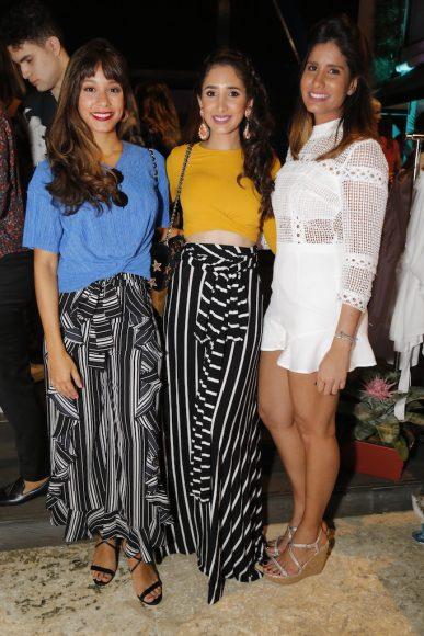 7. Stephany Liriano, Desireé Álvarez y Paola Almonte