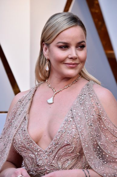 HOLLYWOOD, CA - MARCH 04:  Abbie Cornish attends the 90th Annual Academy Awards at Hollywood & Highland Center on March 4, 2018 in Hollywood, California.  (Photo by Frazer Harrison/Getty Images)