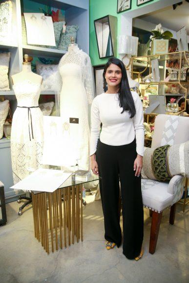 Diseñadora expositora Maylé Vásquez