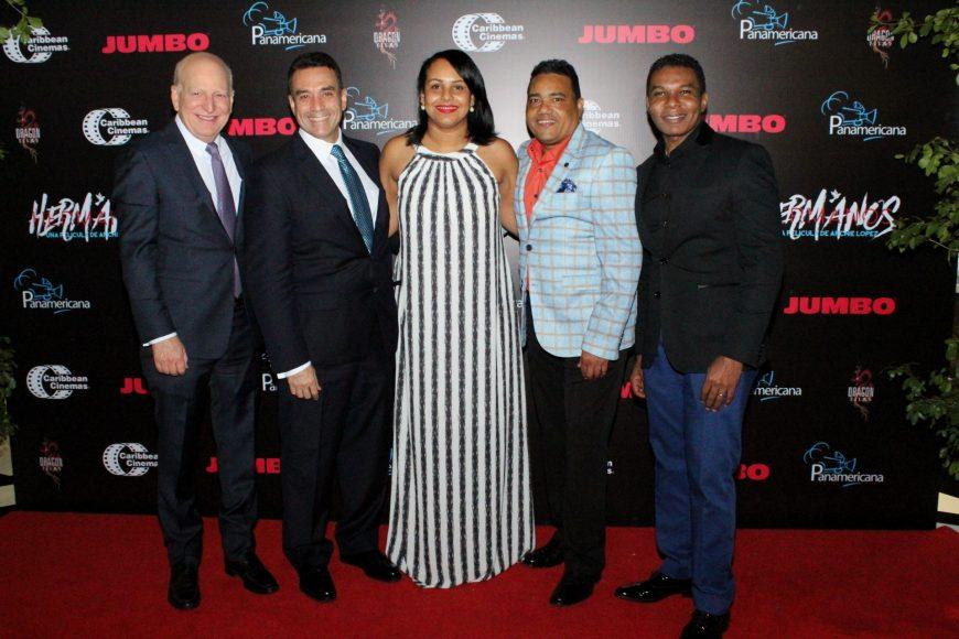 Foto principal-Robert Carrady, Archie Lopez, Zumaya Cordero, Miguel Cespedes, Raymond Pozo
