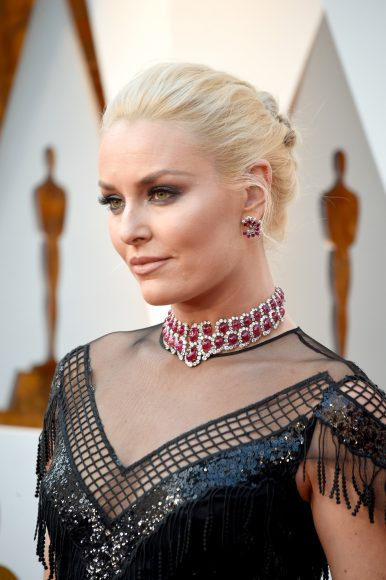HOLLYWOOD, CA - MARCH 04:  Lindsey Vonn attends the 90th Annual Academy Awards at Hollywood & Highland Center on March 4, 2018 in Hollywood, California.  (Photo by Kevin Mazur/WireImage)