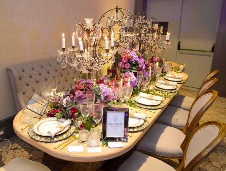 Montaje de Mesa-Luxury Wedding Showrrom