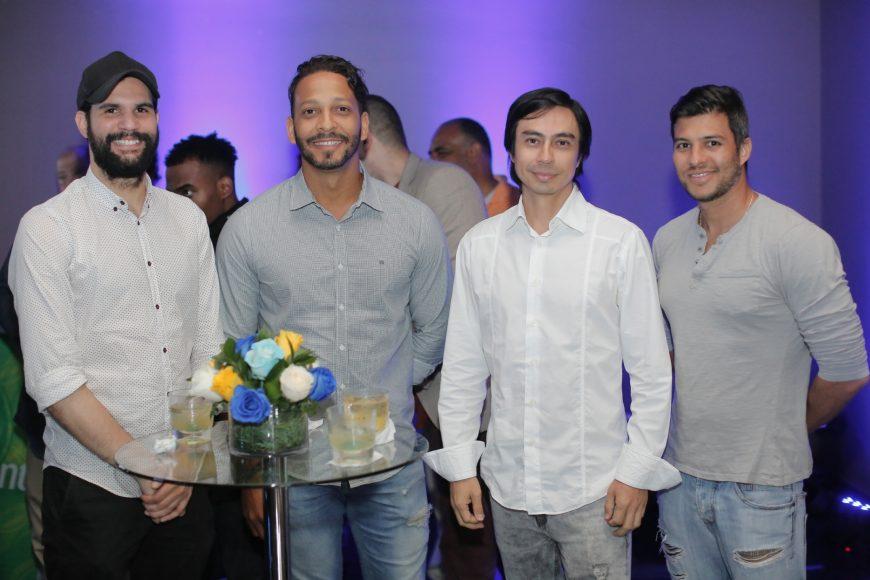 8. Albert Hernández, René Castillo, Efrén Camargo y Xavier Castillo