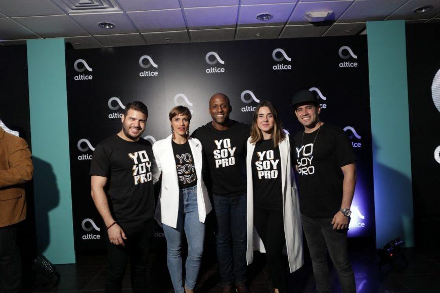 14. Pamel, Nashla, Enrique, Covi y Manny Talentos de Altice