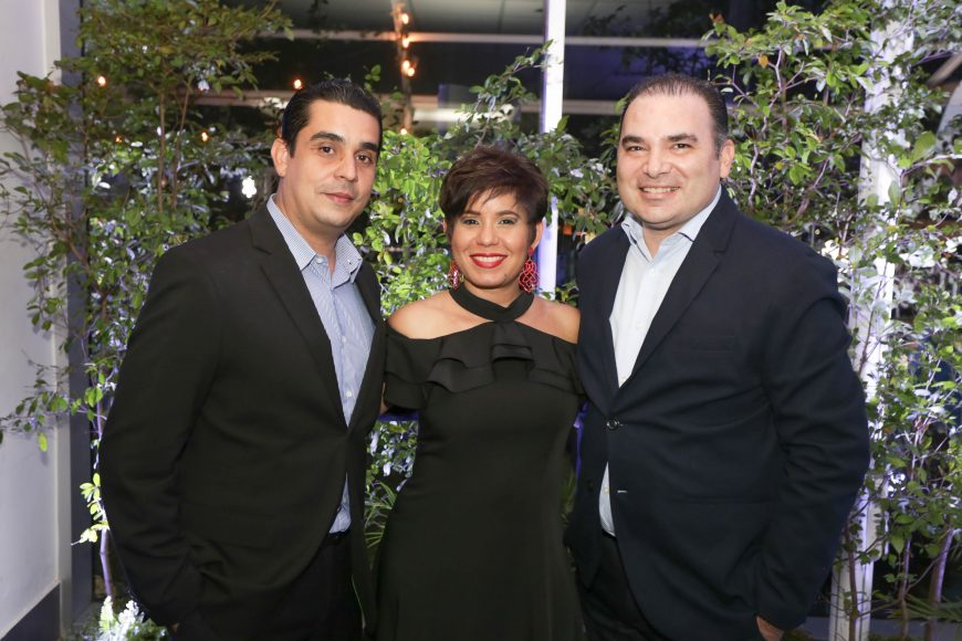 8 Jose Del Castillo, Susette Rosario y Javier Toledo