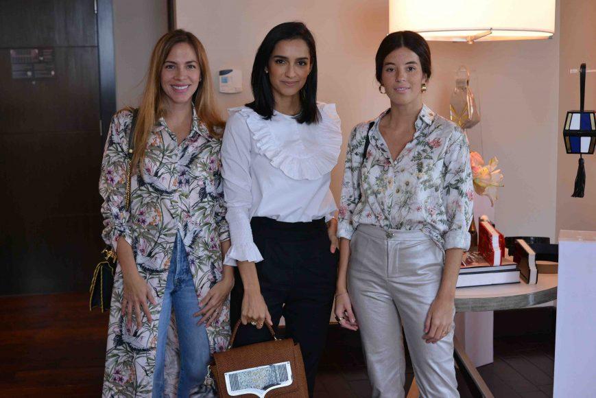 2. Claudia Gonzalez, Atenas Hernandez y Florencia Bordino