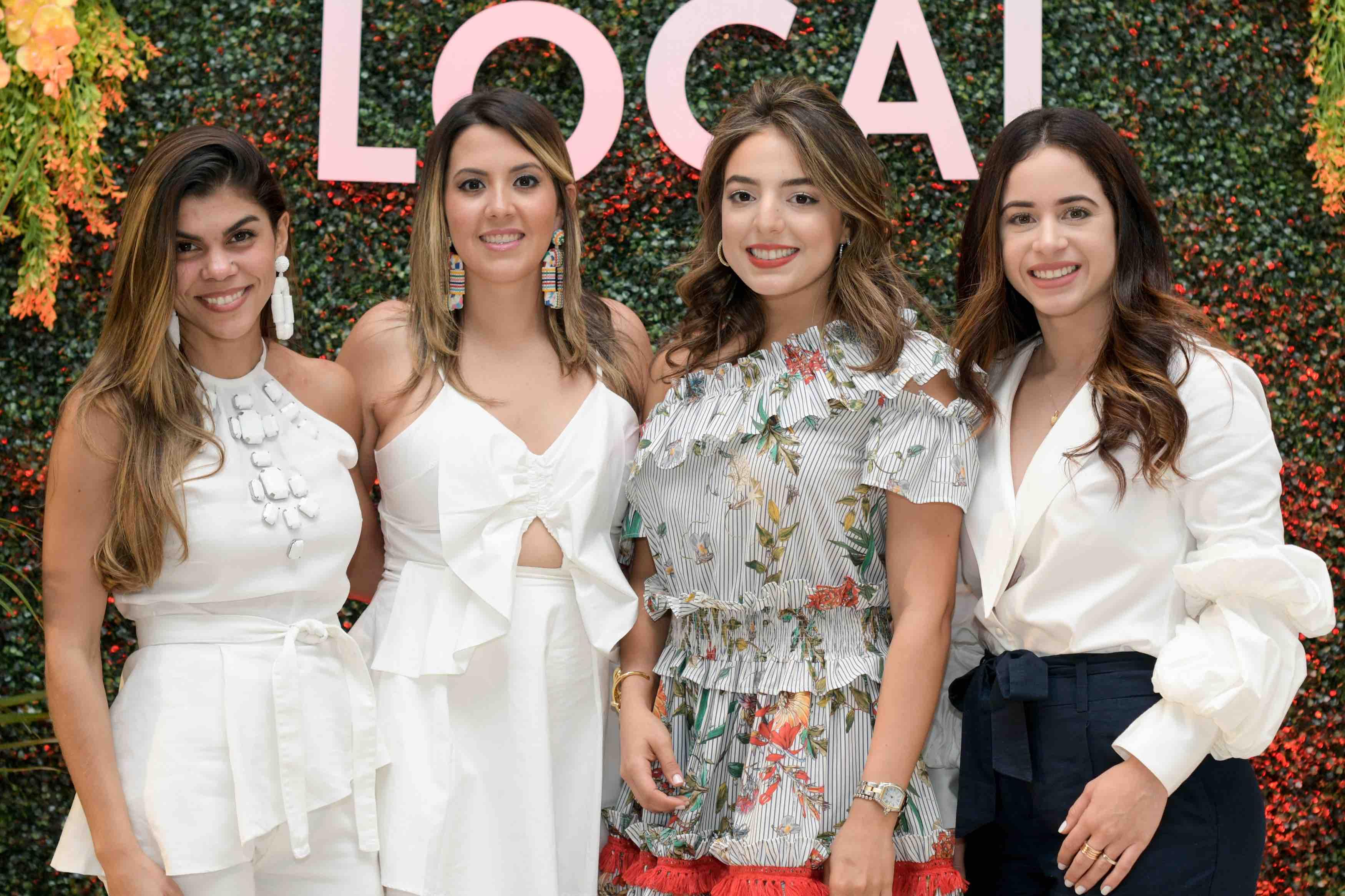 1. Mariel Frias, Paola Santana, Valentina Evertz, Alis Custodia