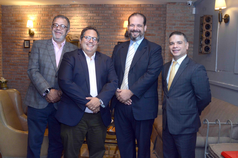 2.George Pou, Manuel Caceres, Jorge Pesquera, Victor Garcia Fadul
