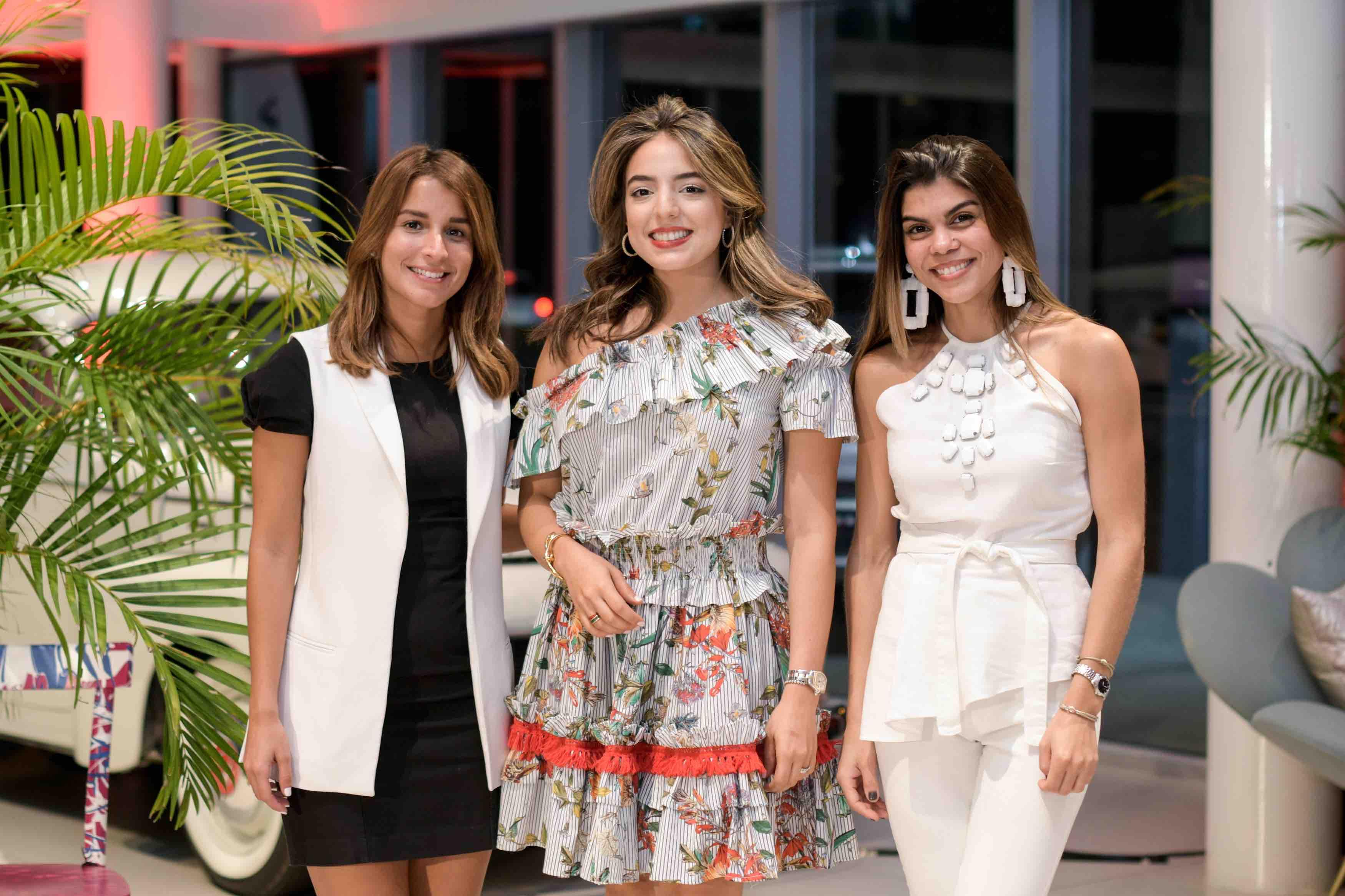 4. Lorenna Espaillat, Valentina Evertz y Mariel Frias