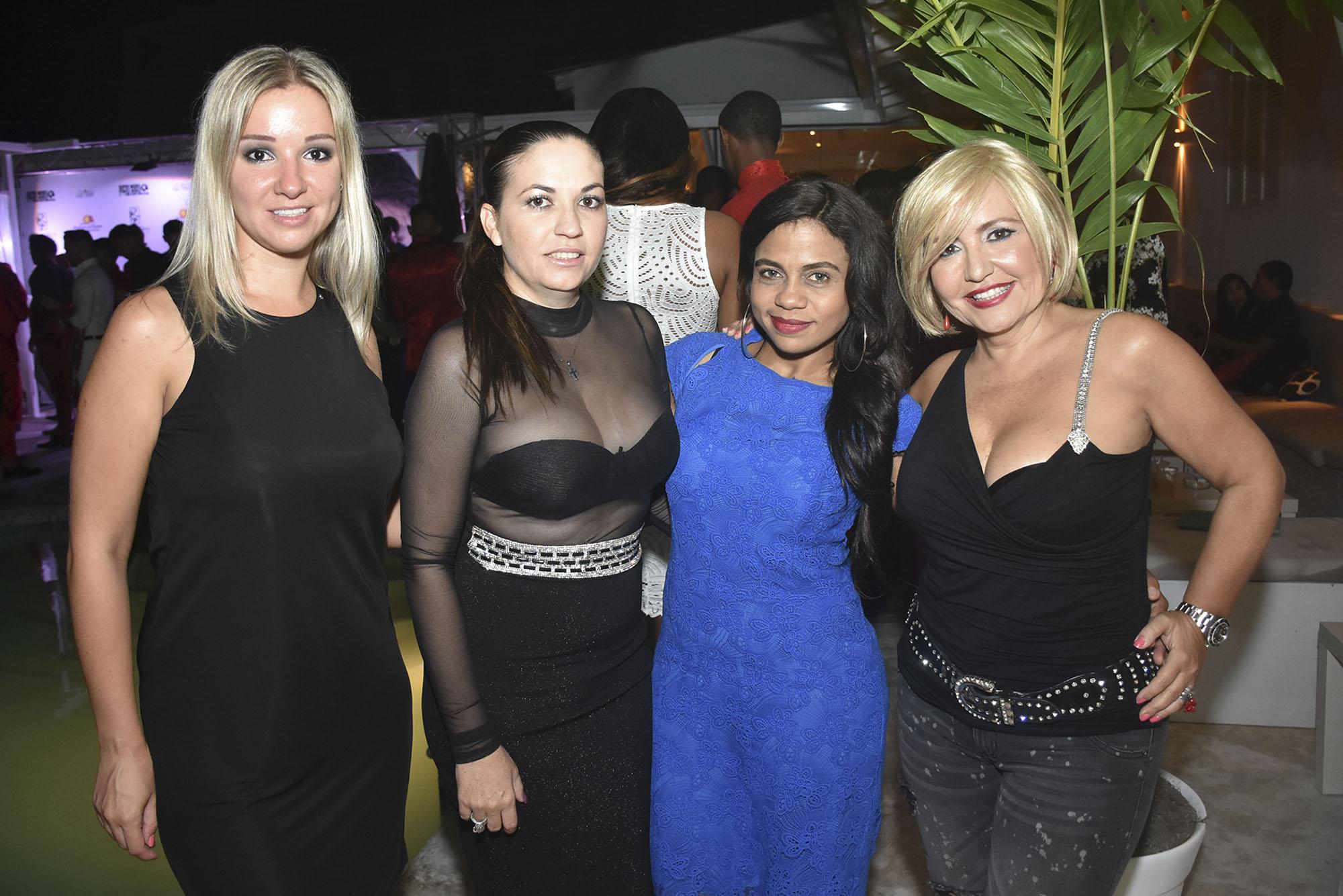 Alexandra Smirnova, Lisandra Fernandez, Marilyn Medina y Carmen Borja