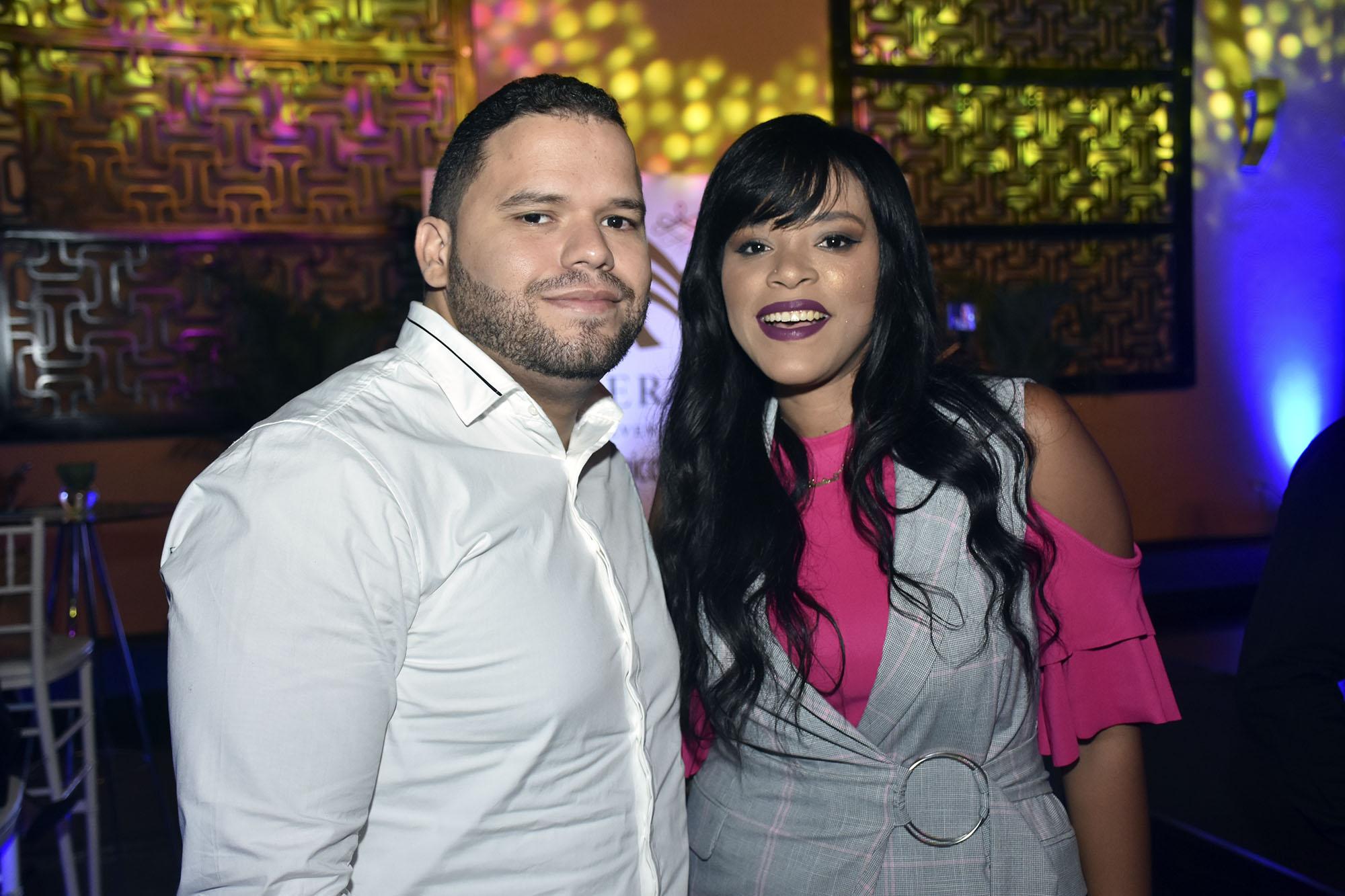Jose Rodriguez y Justine Zabala