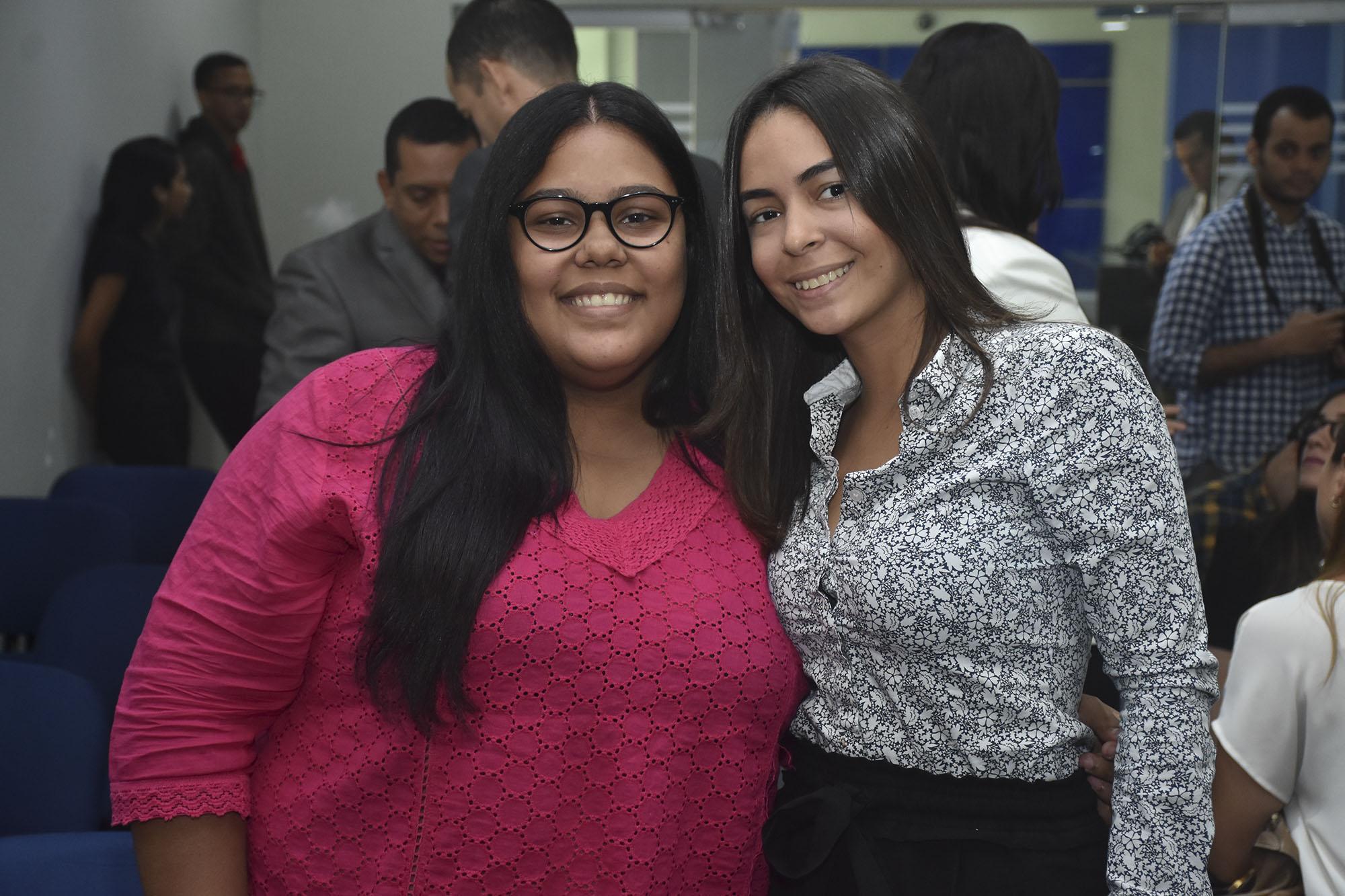 Alexia Feliz y Gabriela Yunen