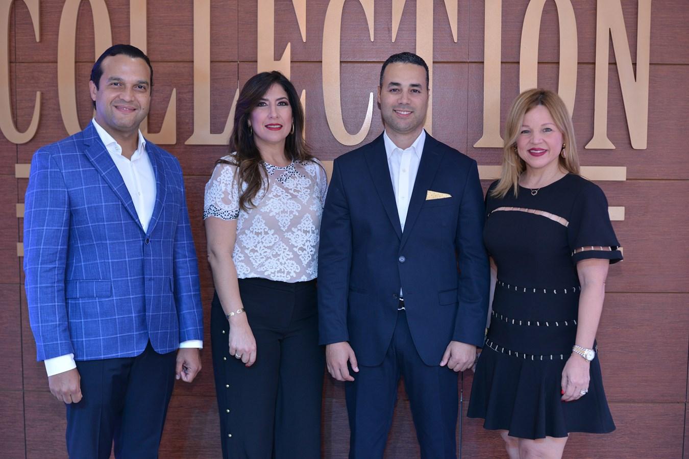 Foto Principal- Jose Manuel Almonte, Patricia Guerra, Luis Tejeda y Montserrat Puig