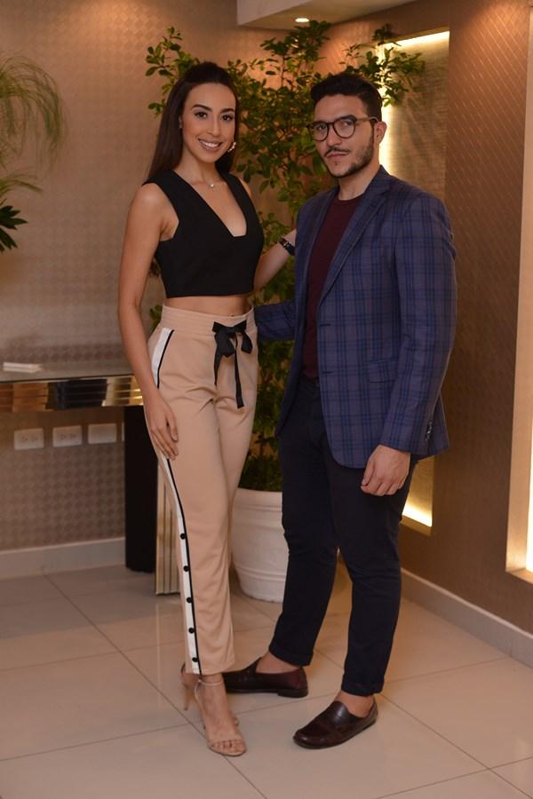 Gabriela Franccescini y José Cristian Lagares