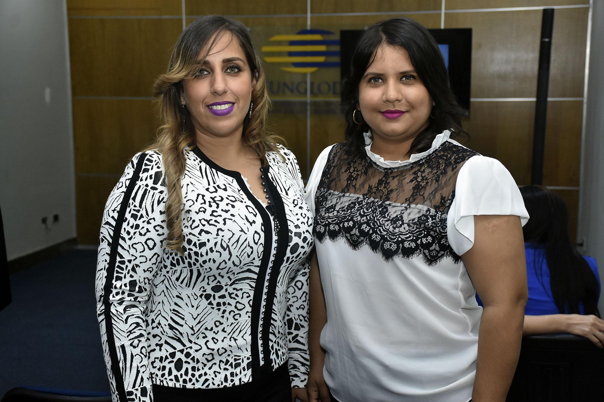 Lilian Cruz y Letiicia Fermin