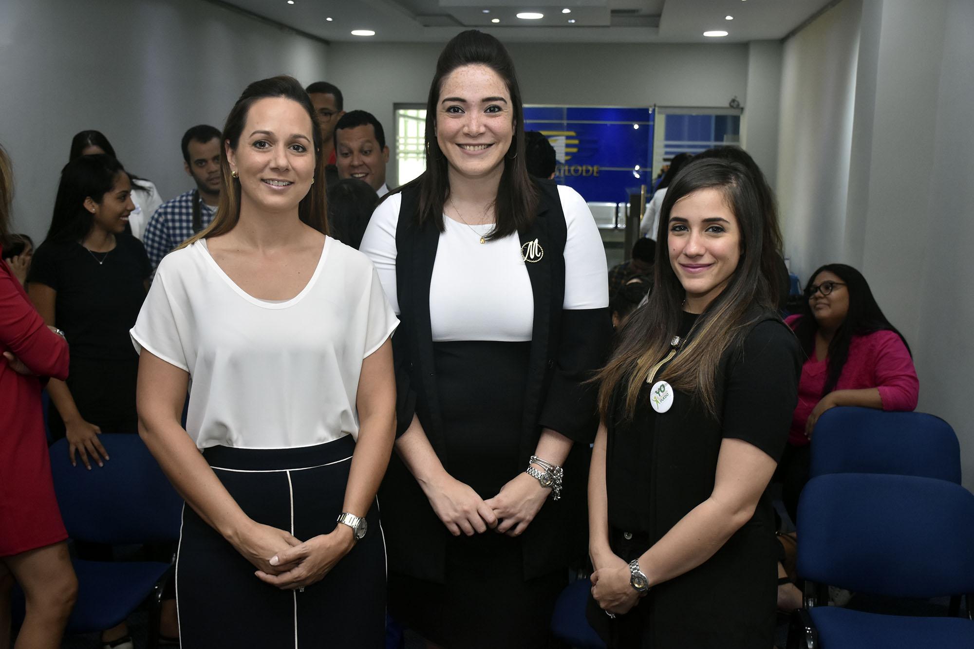 Michelle Delance, Maria Duverge y Maria Haché