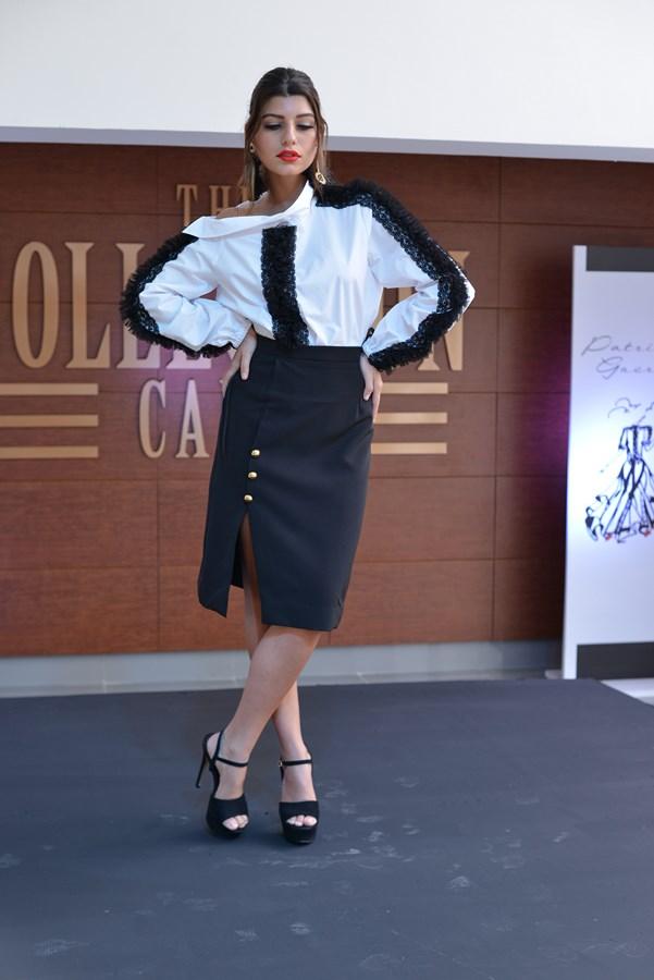 Modelo posando vestuario nueva colección Patricia Guerra (4)