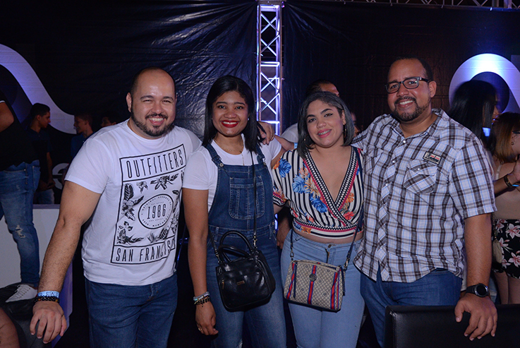 4-Joan Marte, Indira Reyes, Jennifer Perez y Alez Reyna