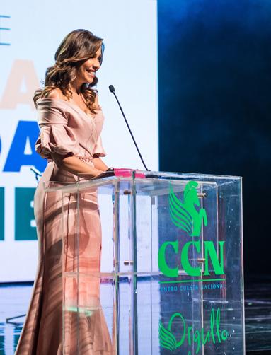 Mariasela Alvarez presentadora de Orgullo de Mi Tierra