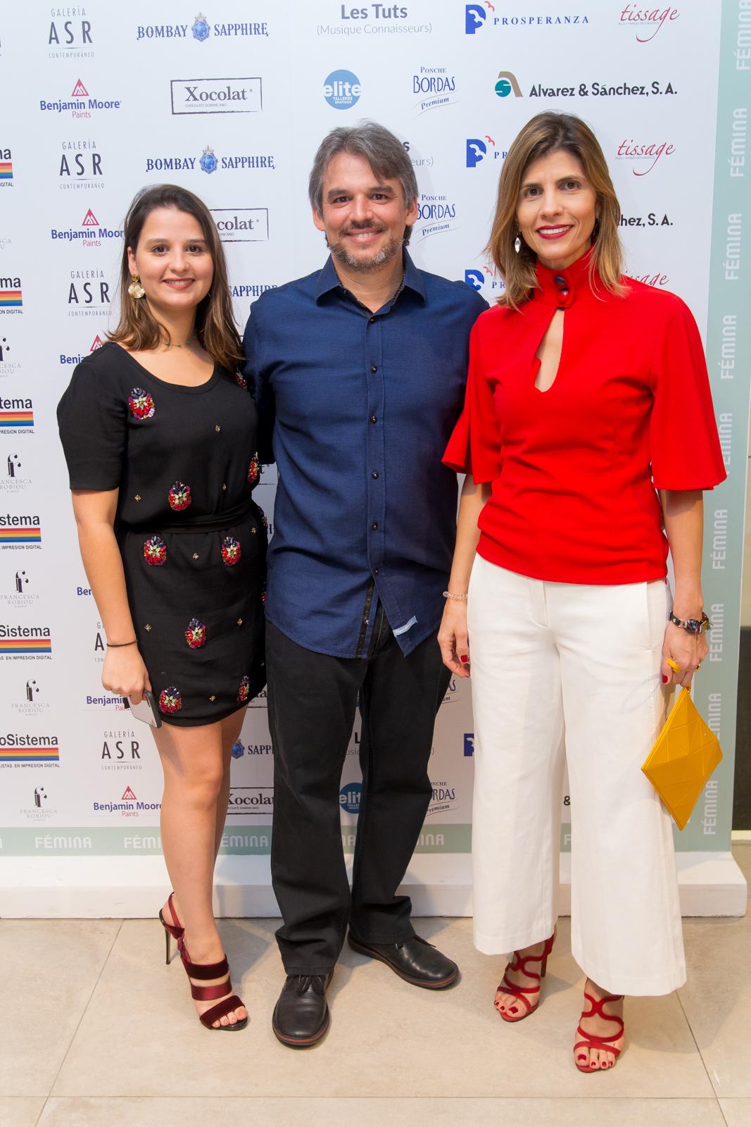 16. Ana Ramos, Jaime Batlle, Ana Sofía Batlle