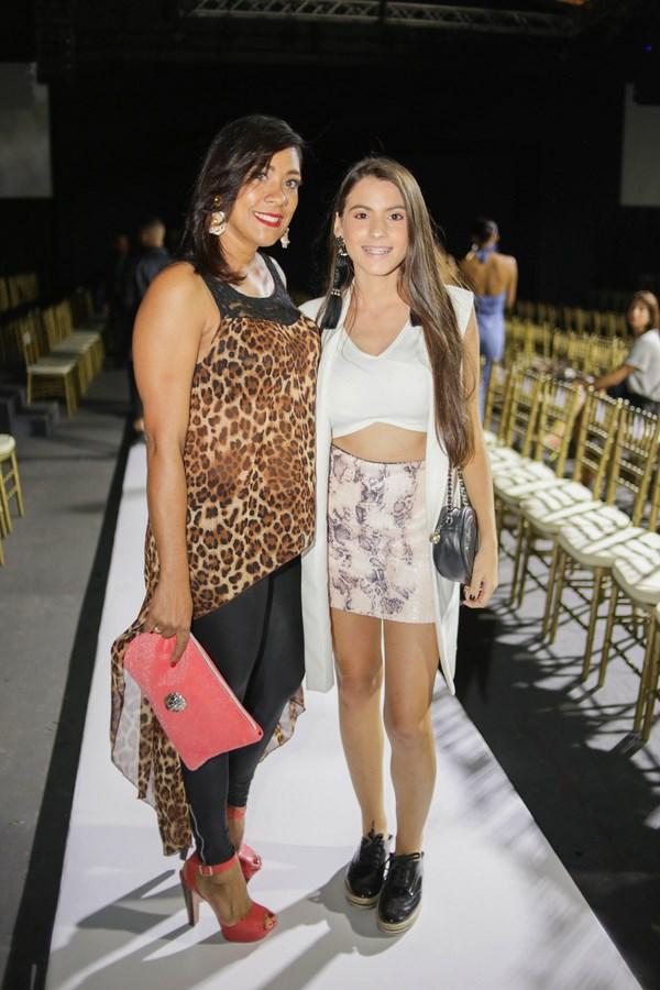 Arelis Mogena y Mayte Celeste
